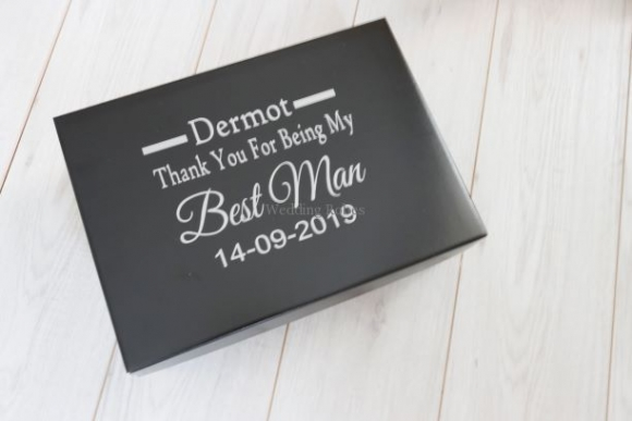 Best Man Personalised Gift box