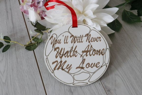 Football Liverpool Inspired Wedding Sign for Page Boy or Flower Girl