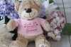 Thank you For Being my Bridesmaid Personalised Teddy Bear