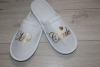 Bridal Party Closed Toe Slippers