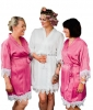 Bridesmaid 5 Star Matt Satin Personalised Robe