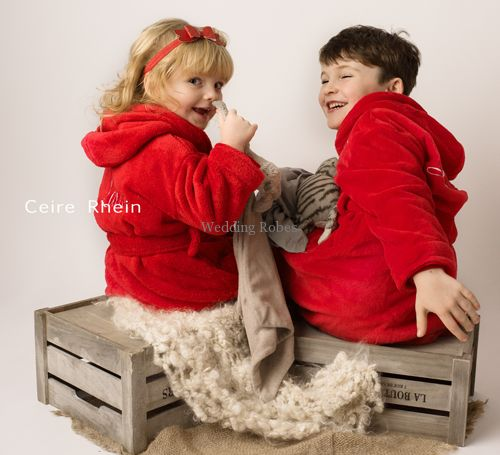 Personalised Kids Dressing Gowns For Christmas